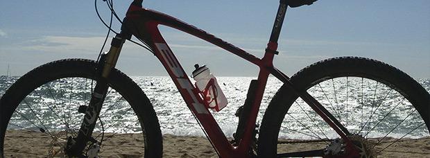 La foto del día en TodoMountainBike: 'Rodando por El Maresme'