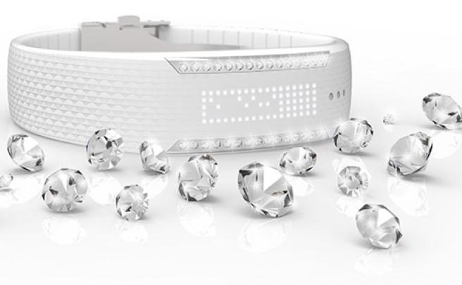 Loop Crystal: Tecnología de Polar y 'glamour' de Swarovski fusionados en una pulsera deportiva