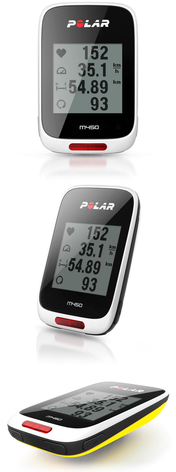 Polar M450, un ciclocomputador con GPS para ciclistas de todos los niveles