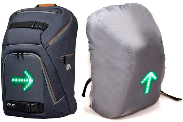 Port Designs GO LED, una interesante mochila con LEDs integrados para deportistas
