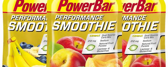 PowerBar Performance Smoothie, una compota de frutas para reponer fuerzas en nuestras rutas