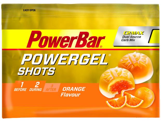 Nuevo sabor de naranja para las gominolas PowerBar PowerGel Shots