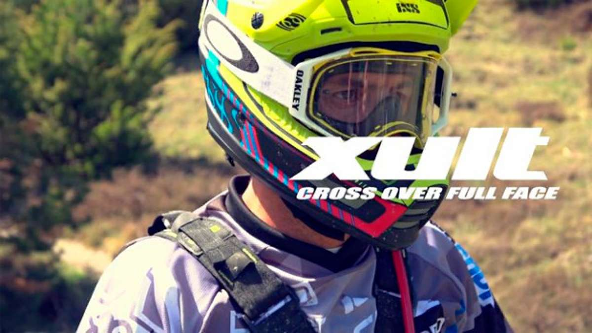 En TodoMountainBike: Cédric Gracia y el nuevo casco integral iXS Xult en acción