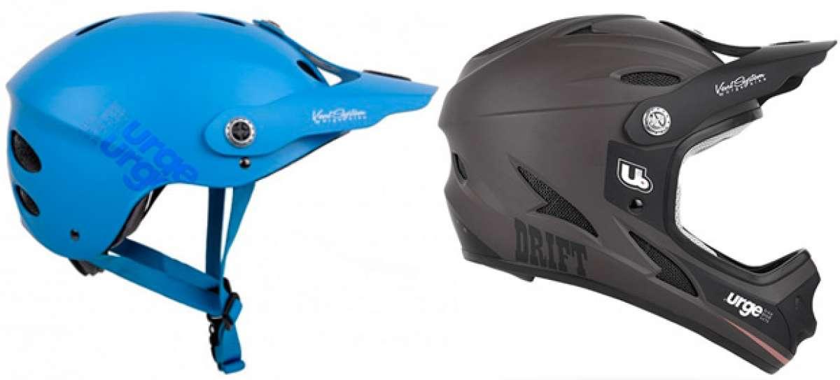 En TodoMountainBike: Los nuevos cascos Urge All-In (49€) y Urge Drift (99€) en acción