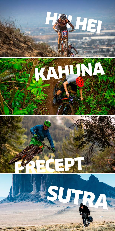 Novedades 2016: Nuevas Kona Hei Hei, Kahuna, Precept y Sutra