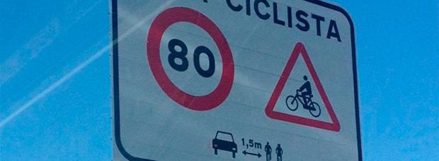 Nueva medida de la DGT: Restricciones de velocidad en vías con alto tránsito de ciclistas