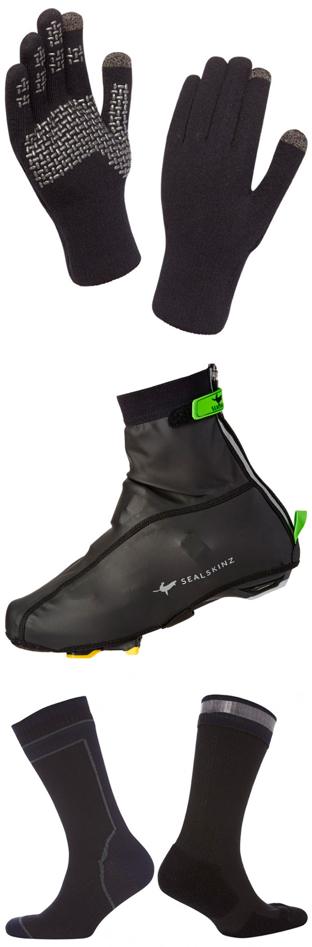 La prendas impermeables de Sealskinz, ya disponibles en España gracias a Bike Office