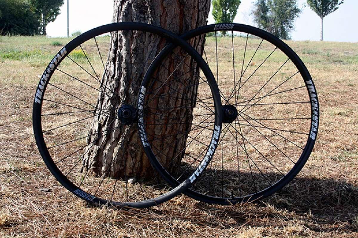 A prueba: Ruedas de carbono TrackStar 29 XC con perfil de 30 milímetros