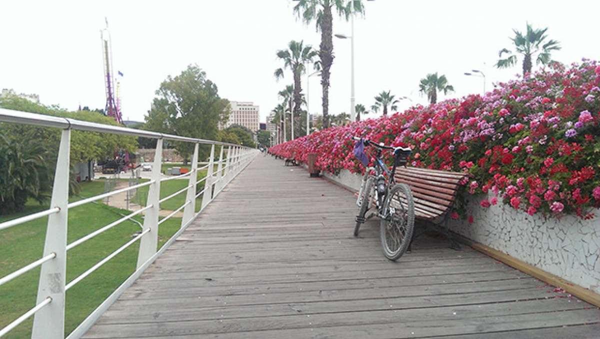 La foto del día en TodoMountainBike: 'Puente de las Flores'