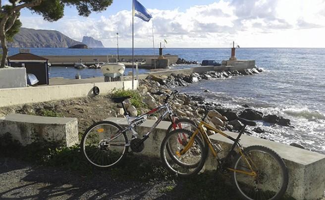 La foto del día en TodoMountainBike: 'Desde el puerto de La Olla'