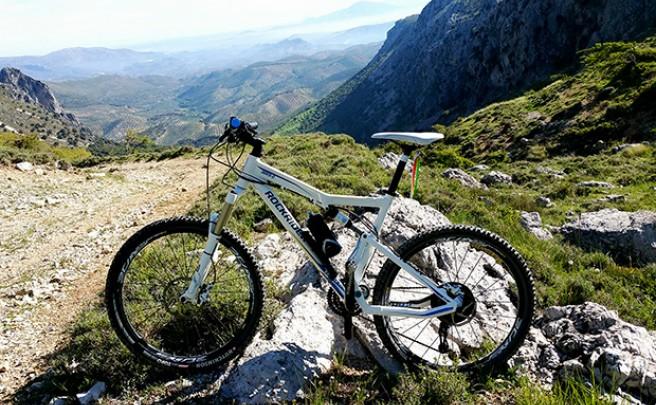 La foto del día en TodoMountainBike: 'En la cima de la montaña'