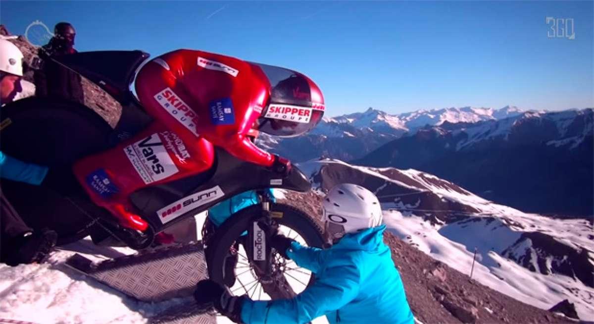En TodoMountainBike: A 223 km/h, el nuevo récord de velocidad sobre una bicicleta del 'Barón Rojo'