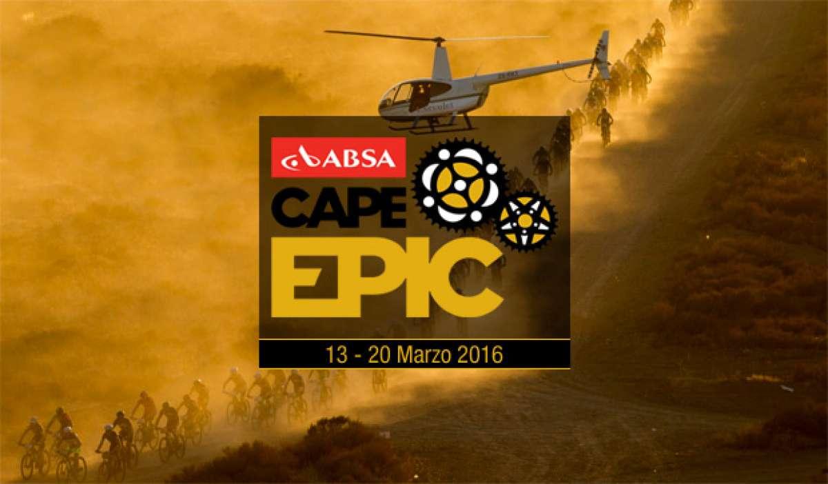 Así será el recorrido de la Absa Cape Epic 2016