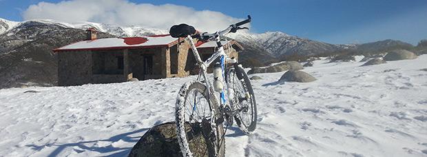 La foto del día en TodoMountainBike: 'Subida al refugio El Berezo'