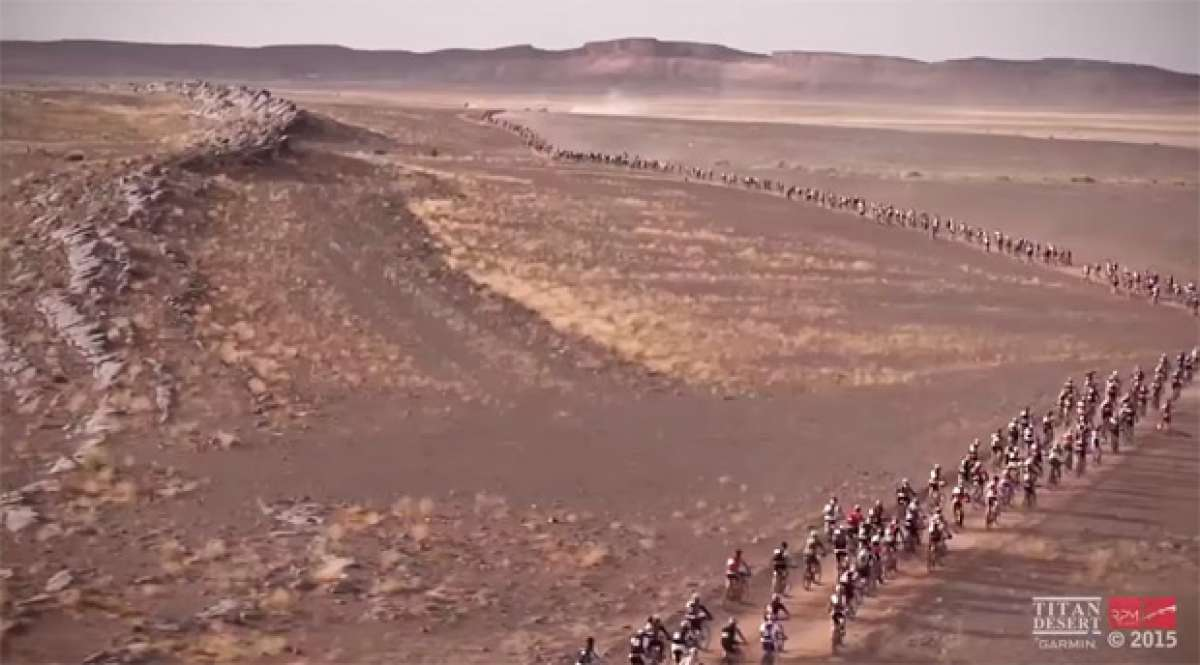 Espectacular resumen 'musical' de la Titan Desert by Garmin 2015