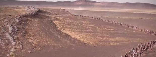 Espectacular resumen 'musical' de la Titan Desert by Garmin 2015