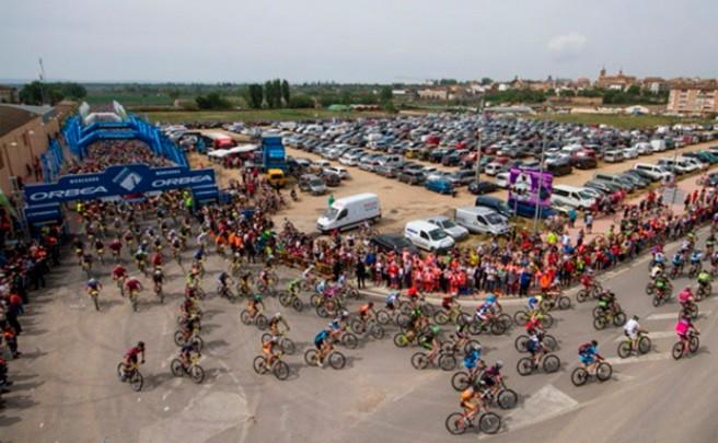 8.000 participantes en la decimoquinta edición de la Orbea Monegros