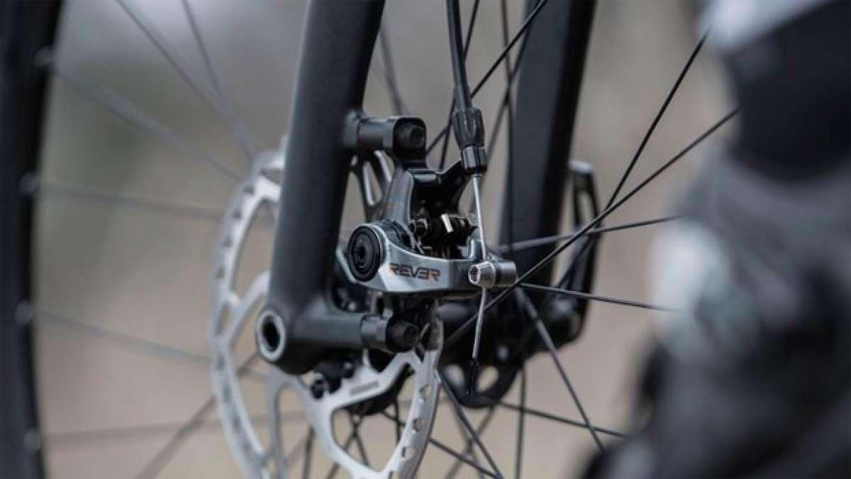 REVER MCX1, unos avanzados frenos mecánicos de doble pistón para bicicletas de carretera y ciclocross