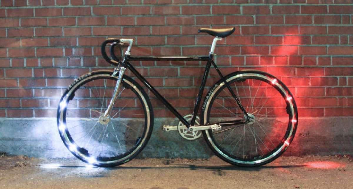 Revolights Eclipse+, iluminación 'inteligente' de 360º para nuestra bicicleta