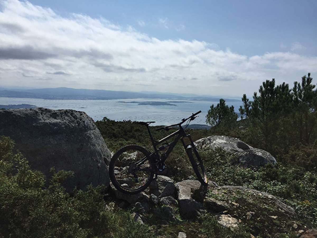 La foto del día en TodoMountainBike: 'Vista de la Ría de Arosa (Galicia)'