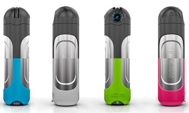 RideAir, una bomba de aire de alta capacidad para inflar ruedas pulsando un botón