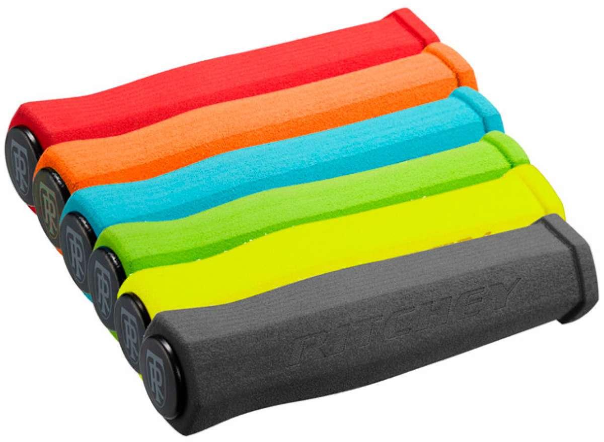 Nuevos colores para los puños de espuma Ritchey WCS True Grip