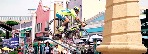 'Road Bike Freestyle 2', las habilidades de Vittorio Brumotti sobre una bicicleta de carretera