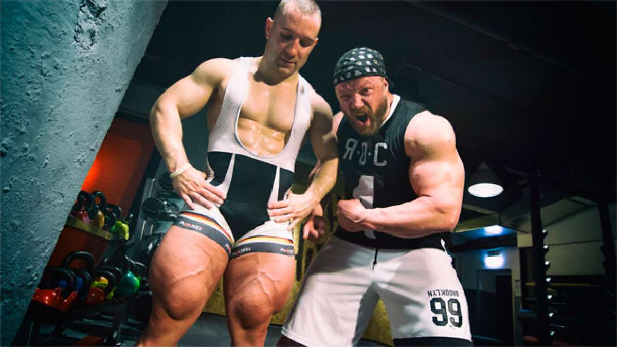 Las musculosas piernas de Robert Förstemann contra las de un culturista... ¿Quién gana la batalla?