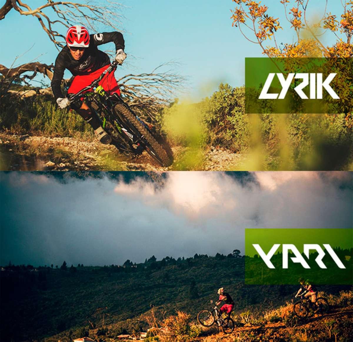 Novedades 2016: Nuevas horquillas RockShox Lyrik (Enduro) y RockShox Yari (Trail/AM)