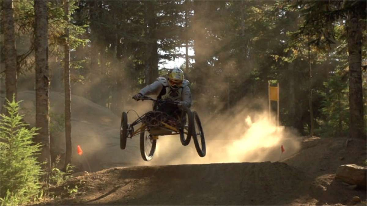 Rodando con Stacy Kohut por el Bike Park de Whistler