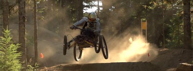 Rodando con Stacy Kohut por el Bike Park de Whistler