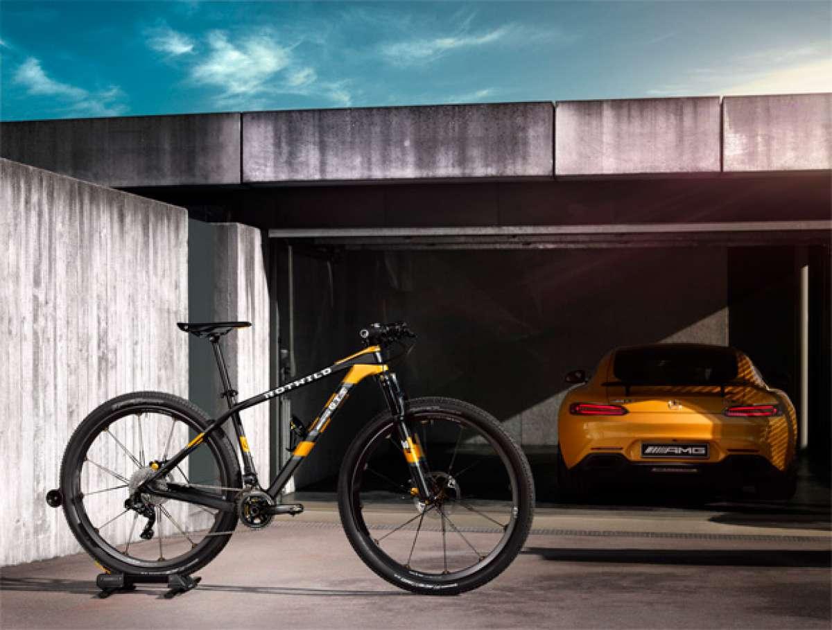 Rotwild GT S, una espectacular edición limitada inspirada en los superdeportivos de Mercedes Benz