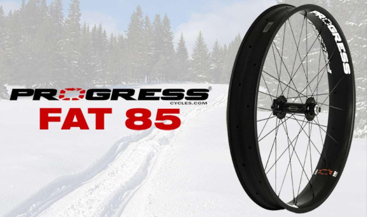 Progress FAT 85, nuevas ruedas de carbono para 'Fat Bikes'