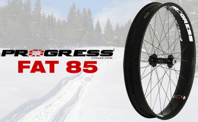 Progress FAT 85, nuevas ruedas de carbono para 'Fat Bikes'