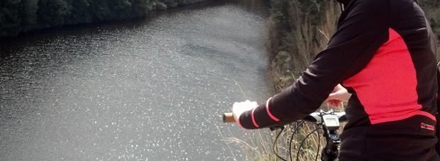 La foto del día en TodoMountainBike: 'Ruta BTT de los pantanos'
