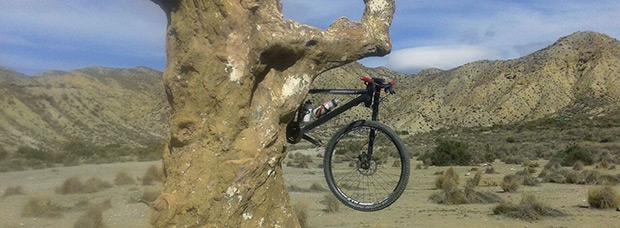 La foto del día en TodoMountainBike: 'Ruta por el Desierto de Tabernas'