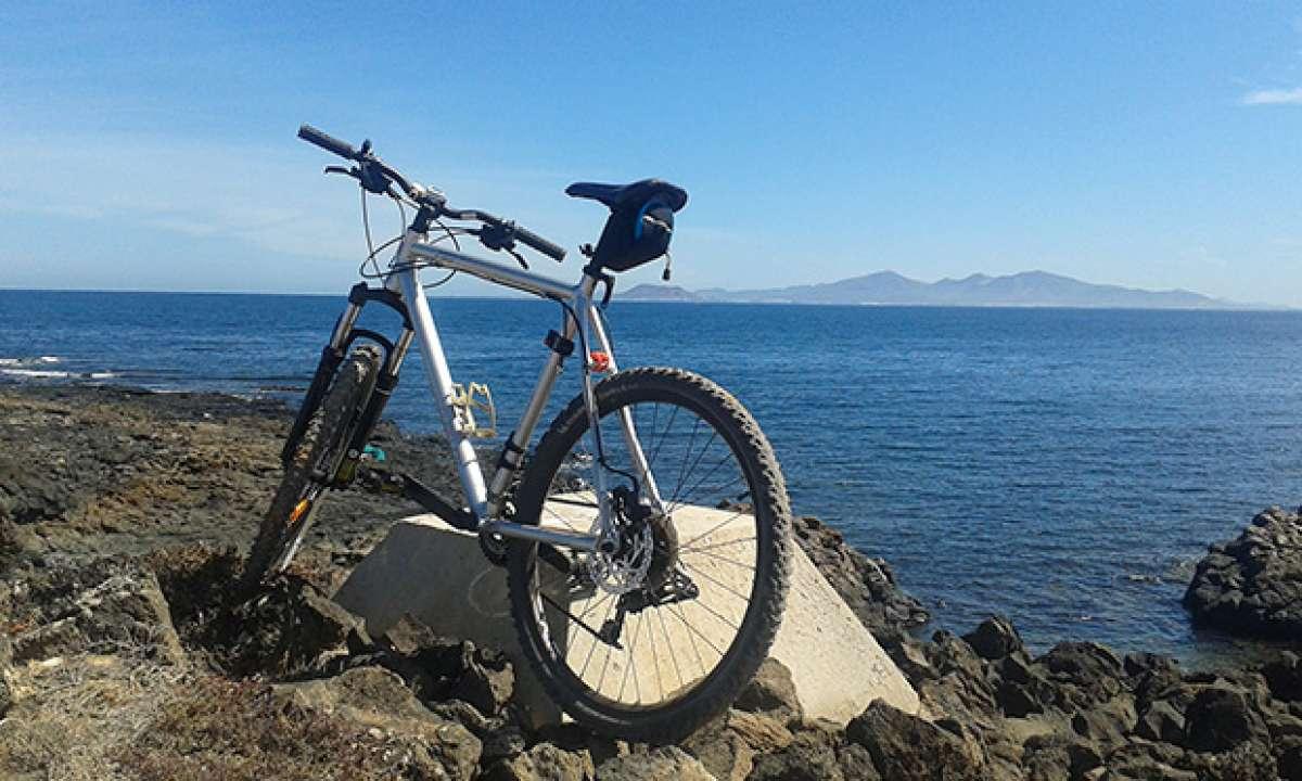 La foto del día en TodoMountainBike: 'Una buena ruta en Fuerteventura'