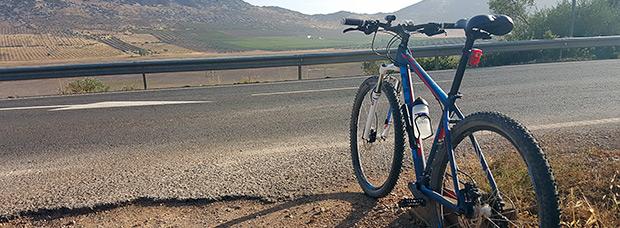 La foto del día en TodoMountainBike: 'De ruta por La Mancha'