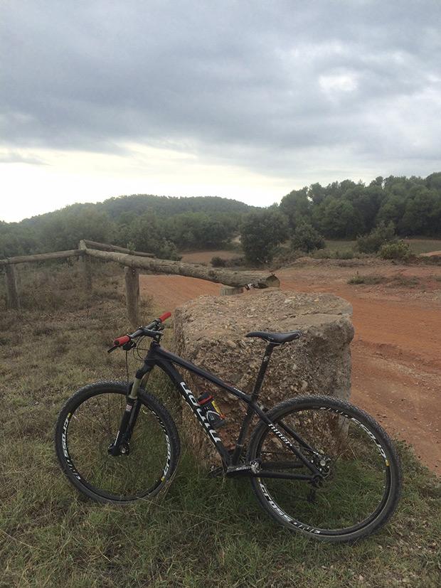 """La foto del día en TodoMountainBike: """"Entre Castellar del Vallès y Sant Llorenç del Munt"""""""