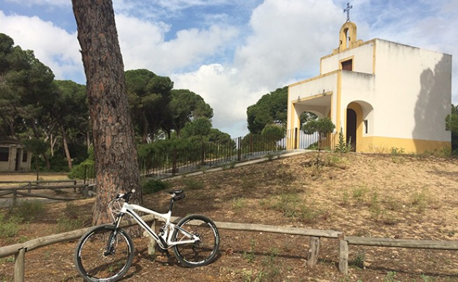 La foto del día en TodoMountainBike: 'Desde Sevilla a Sanlúcar de Barrameda'