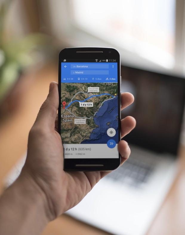 La planificación de rutas para bicicletas en Google Maps, ya disponible