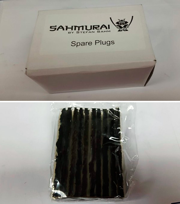 Las mechas de recambio para el kit Sahmurai Sword, ya disponibles
