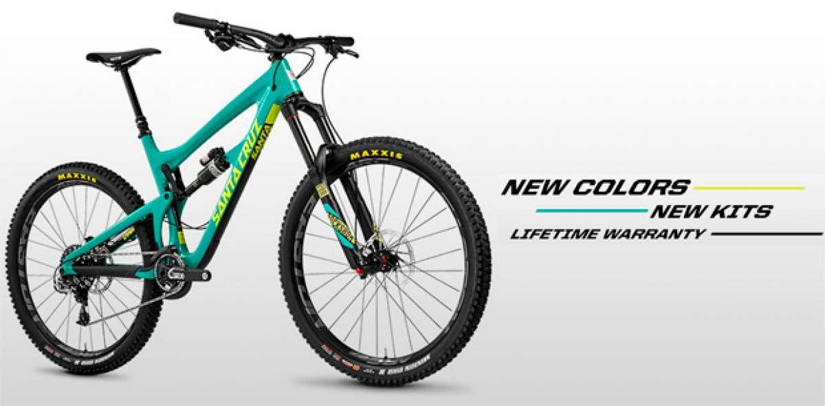 Nuevos colores y montajes para las bicicletas de Santa Cruz... y nuevo dueño para la firma