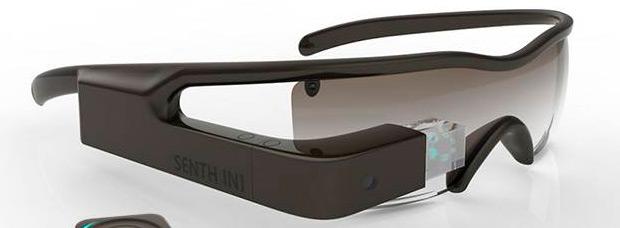 SENTH IN1, las primeras gafas con realidad aumentada específicas para ciclistas
