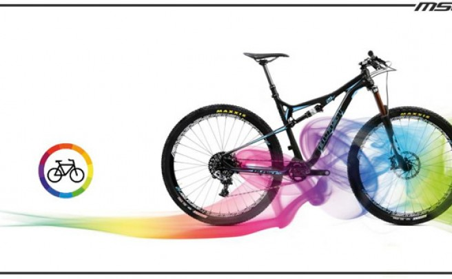 Hasta 939 colores de la gama Pantone para personalizar las bicicletas de MSC Bikes
