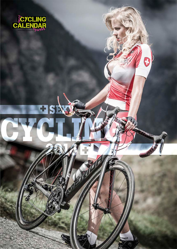 Sexy Cycling Calendar Swiss, sensualidad en estado puro para la edición 2016 de este calendario ciclista