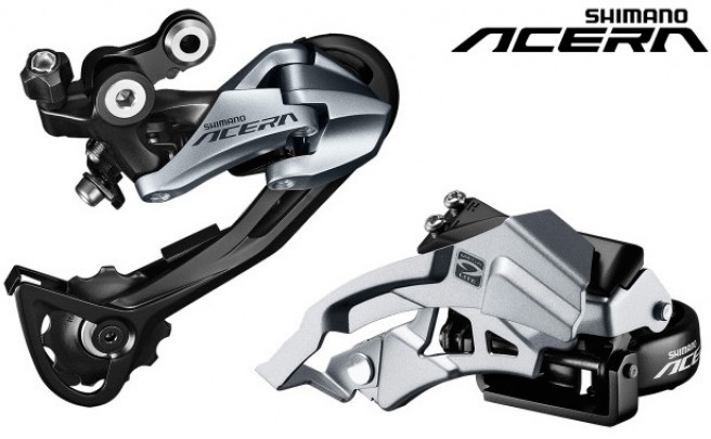 Nuevo diseño y más tecnología para el renovado grupo Shimano Acera de 2015