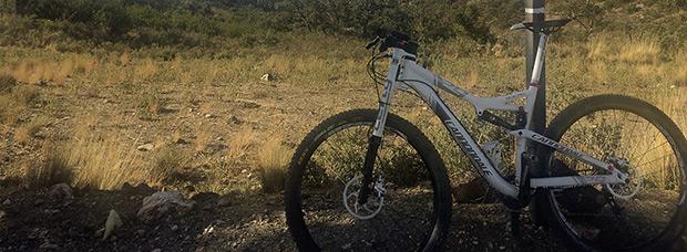 La foto del día en TodoMountainBike: 'Desierto de Tabernas'