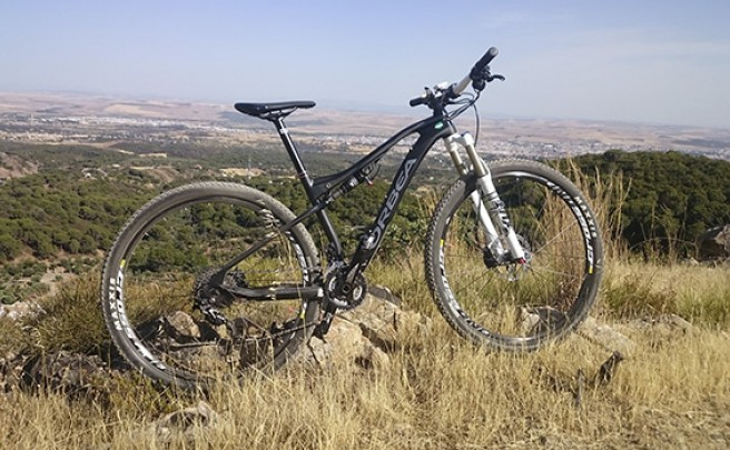 La foto del día en TodoMountainBike: 'Sierra de Córdoba'