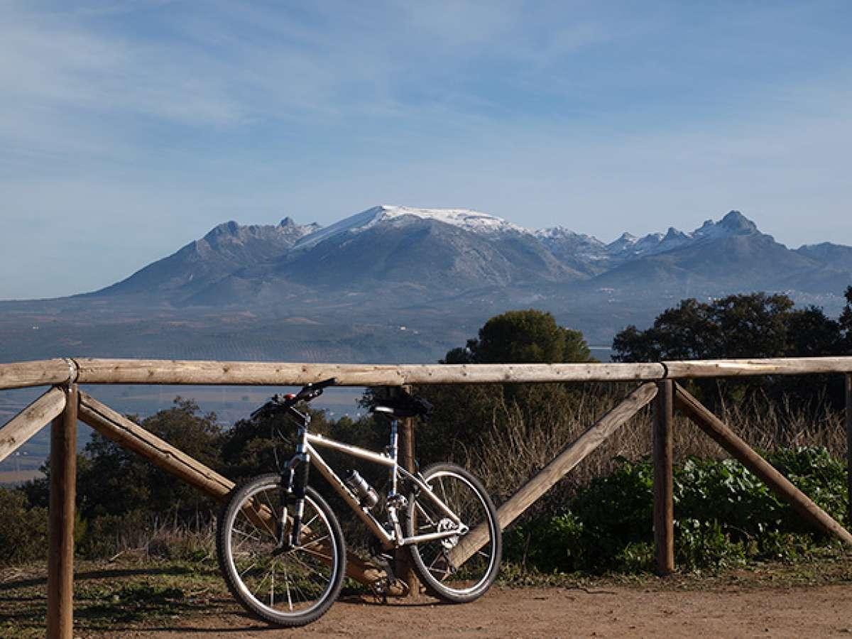 """La foto del día en TodoMountainBike: """"Sierra Elvira (Granada)"""""""